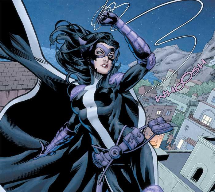 Huntress La Cazadora personajes de DC Comics Aves de Presa
