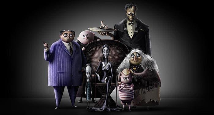 La Familia Addams en animación