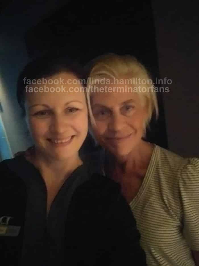 Linda Hamilton en el reboot de Terminator