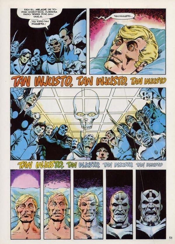 La muerte de Capitán Marvel de Jim Starlin