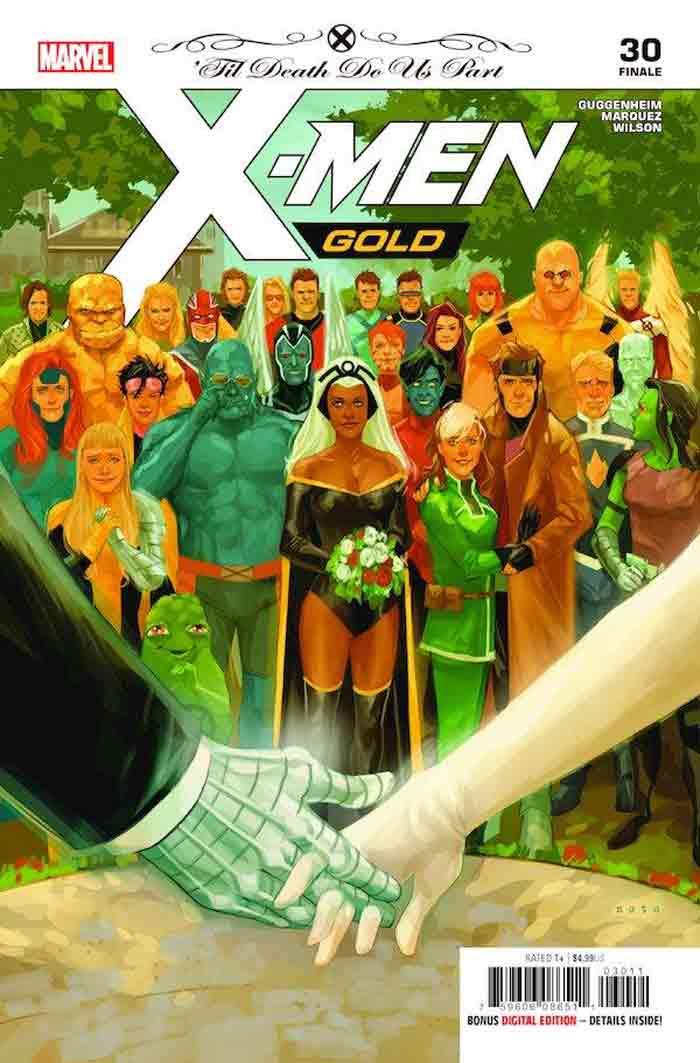 Portada de X-Men: Gold (Marvel Comics)