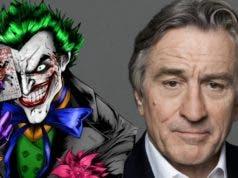 Robert DeNiro en la película de El Joker