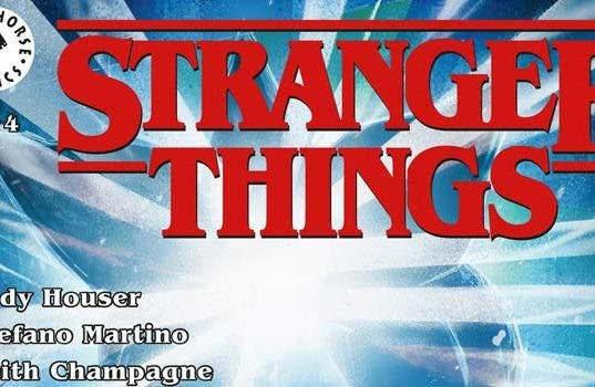 Cómic de Stranger Things (Netflix)