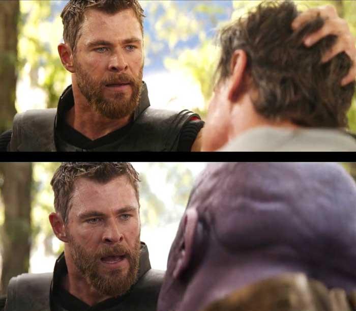 Thor en Vengadores: Infinity War de Marvel Studios