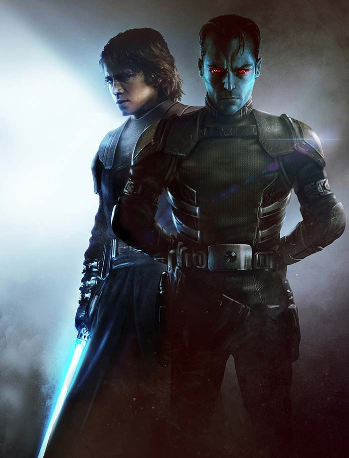 El regreso de Anakin Skywalker en Thrawn: Alliances (Star Wars)