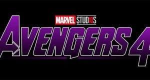 Logo morado de Vengadores 4