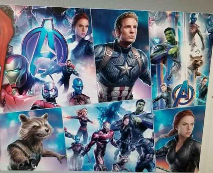 Los superhéroes de Marvel en Vengadores 4 (2019)
