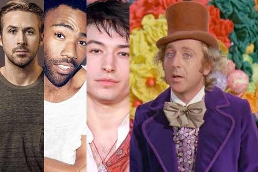 Donald Glover, Ezra Miller o Ryan Gosling Willy Wonka