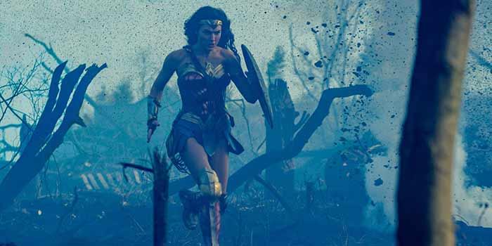 Rodaje de Wonder Woman 2 (2019)
