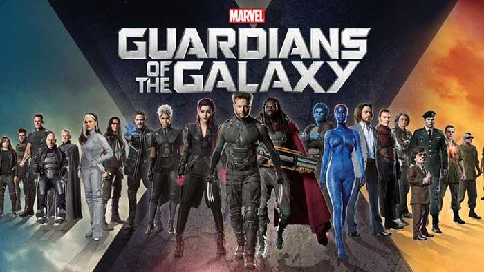X-Men en Guardianes de la Galaxia Vol. 3