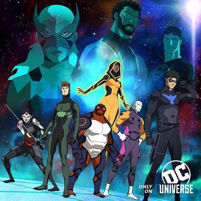 Young Justice: Outsider se estrena a final de año en la plaforma de DC