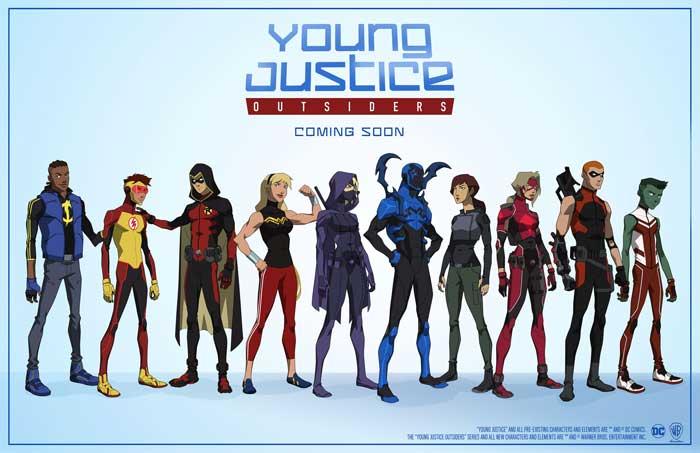 Young Justice: Outsiders nuevo trailer presentado en la Comic Con