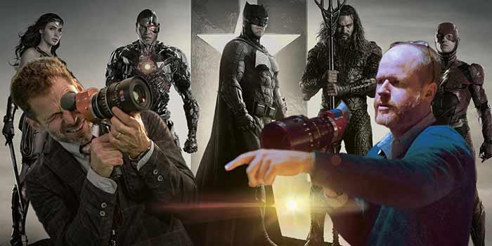Zack Snyder vs Joss Whedon en la Liga de la Justicia