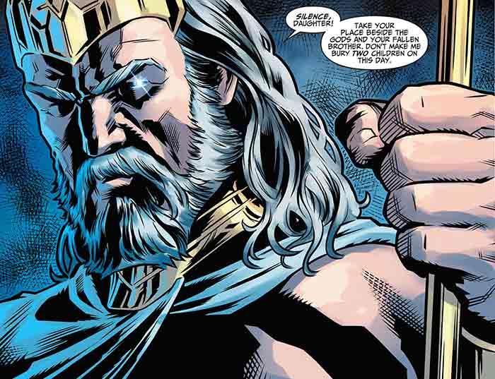 Zeus | Wonder Woman 2 (DC Comics)