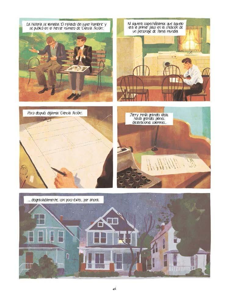 JOE SHUSTER. Una historia a la sombra de Superman Page 1