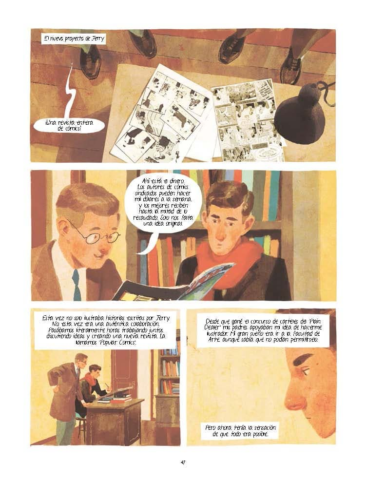 JOE SHUSTER. Una historia a la sombra de Superman Page 2