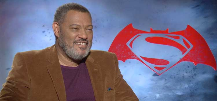 Laurence Fishburne dceu Perry White