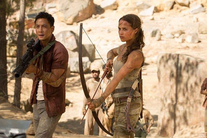 Tomb Raider 2018 con Alicia Vikander