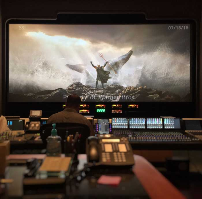 Foto del primer trailer de Aquaman de James Wan
