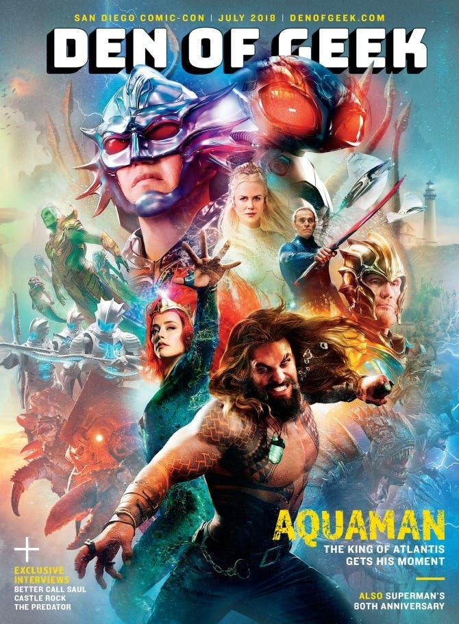 aquaman official cover july 2018