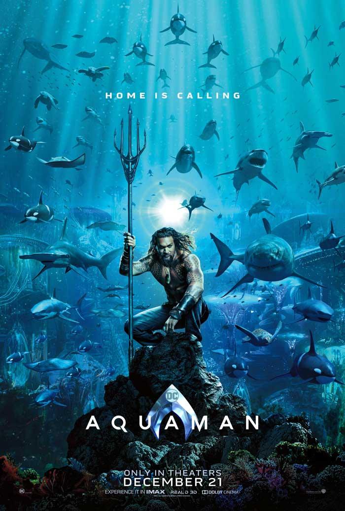 Póster de Aquaman (2018)