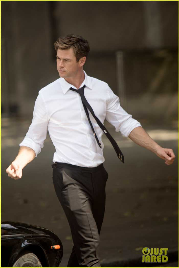 Chris Hemsworth Men in Black