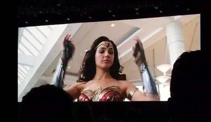 Tráiler de Wonder Woman 1984 en la Comic Con 2018