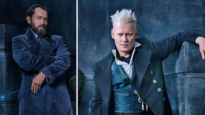 Dumbledore y Grindelwald en Animales Fantásticos 2