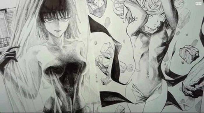 El diseño de Fubuki en One Punch Man