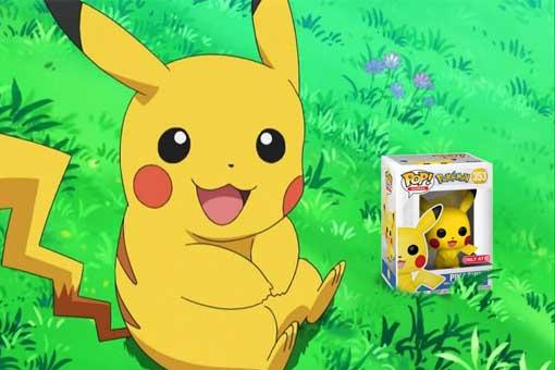 funko pop pikachu pokémon