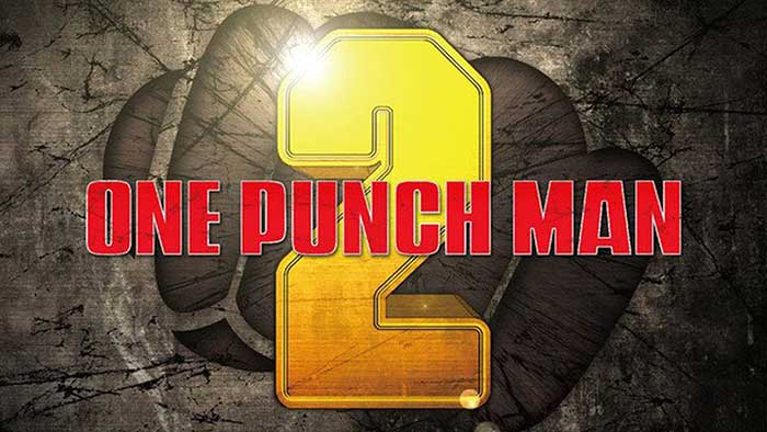 Logotipo de la temporada 2 de One Punch Man
