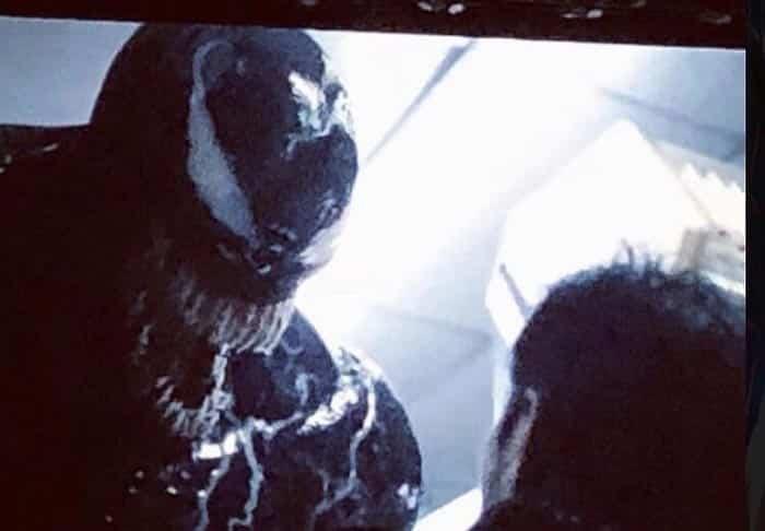 Imagen del tráiler de Venom en la Comic Con 2018