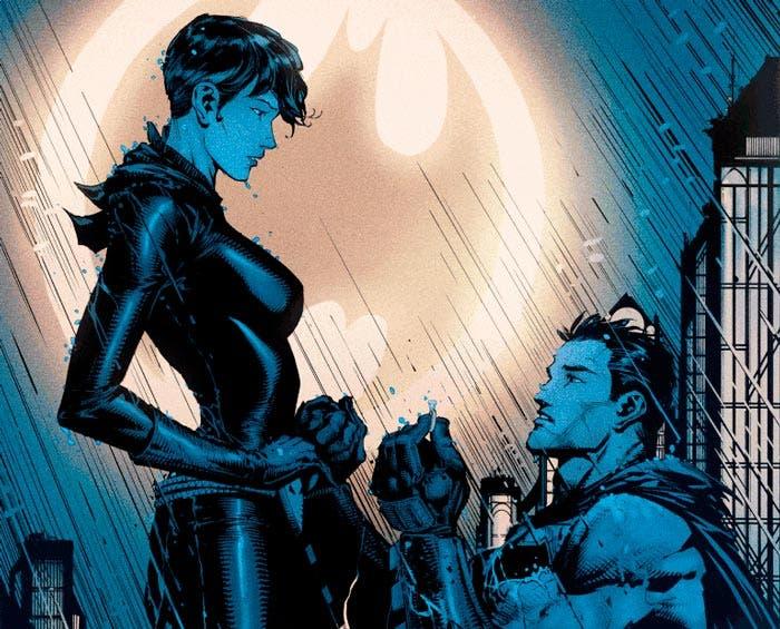la pedida de Batman a Catwoman