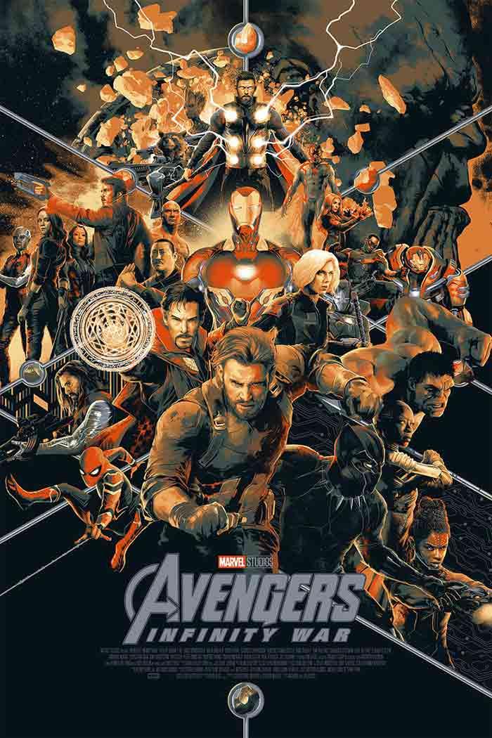 Marvel lleva material inédito de Vengadores: Infinity War a la Comic Con 2018