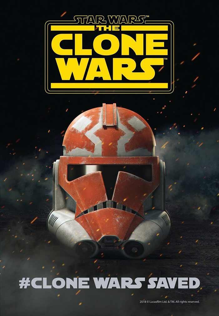 La saga de Star Wars podría tener una salvación: The Clone Wars