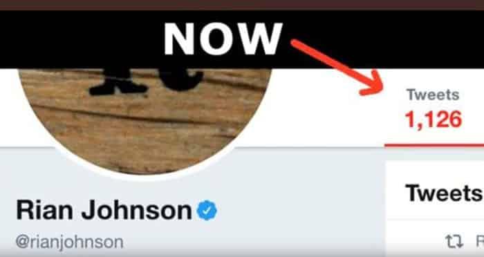 Los tuits de Rian Johnson (Star Wars) ahora