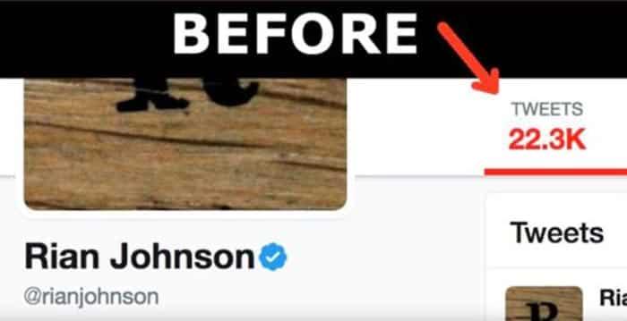 Los tuits de Rian Johnson (Star Wars) antes
