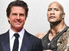 Tom Cruise y Dwayne Johnson (The Rock)