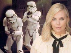 Charlize Theron Star Wars 9