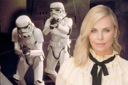 Charlize Theron Star Wars 9