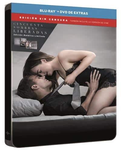 Cincuenta sombras liberadas Blu-Ray Steelbook