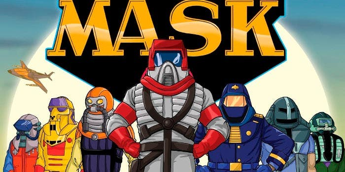 Mask animated series