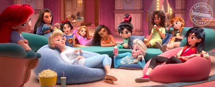 Ralph rompe internet princesas Disney