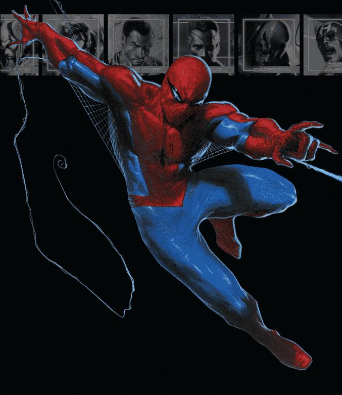 Brian Michael Bendis traje secret war Spider-man