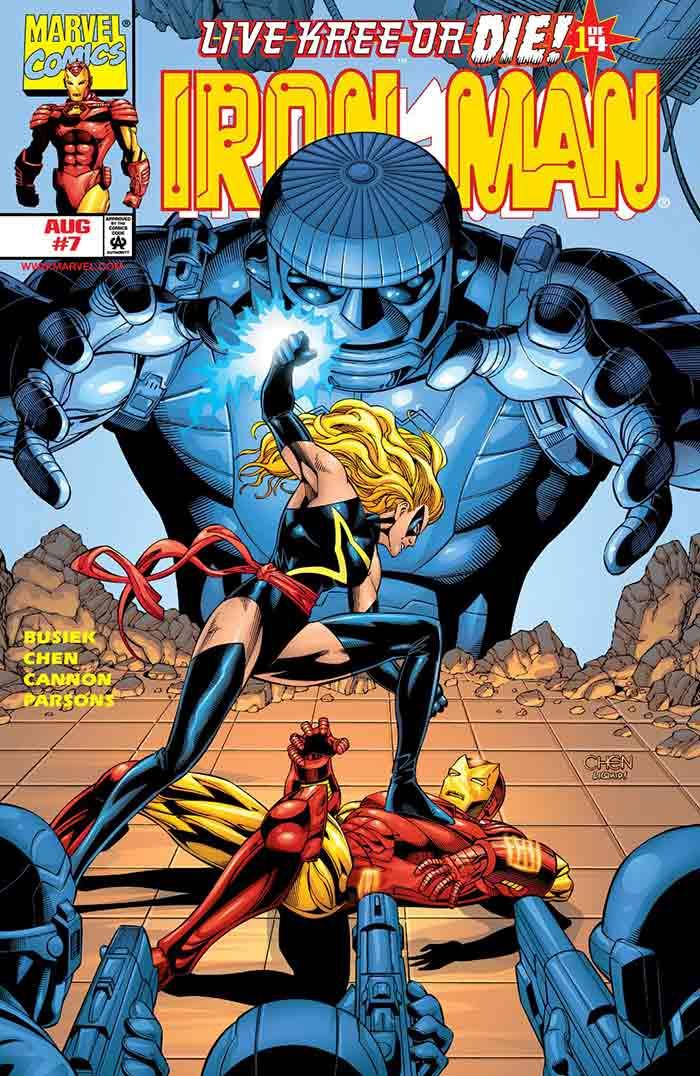 Live Kree or Die | 6 posibles historias que veremos en Capitana Marvel