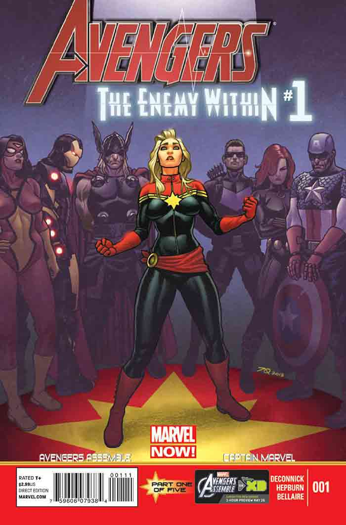 The Enemy Within | 6 posibles historias que veremos en Capitana Marvel