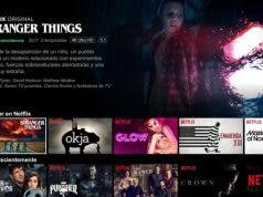 Buscar en el catálogo de Netflix