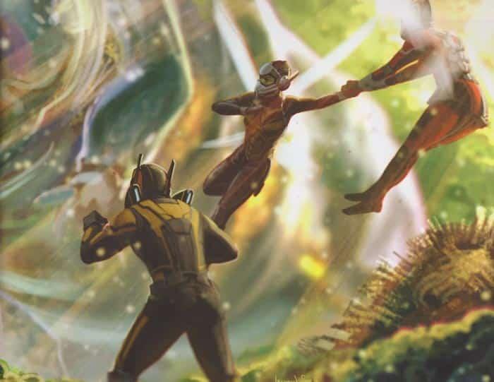 concept art Ant-man y la avispa.