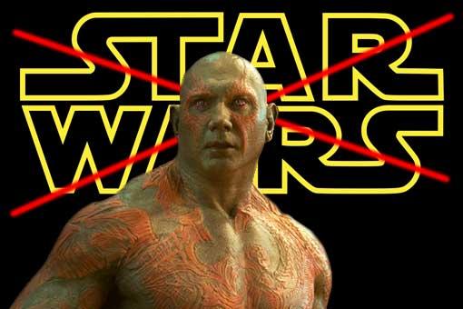 Dave Bautista Star Wars