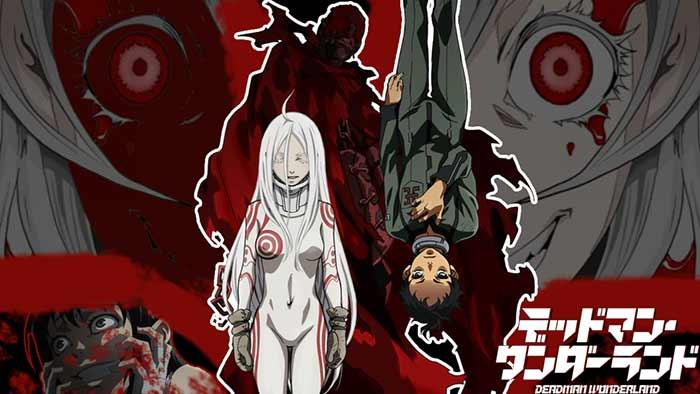 Deadman Wonderland | 4 animes que debes ver si te gusta One Punch Man